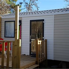 Mobil-Home du camping Le Saint Laurent